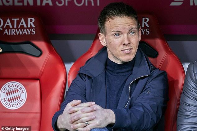 Julian Nagelsmann will join Bayern Munich next season after a £21.7m deal was agreed