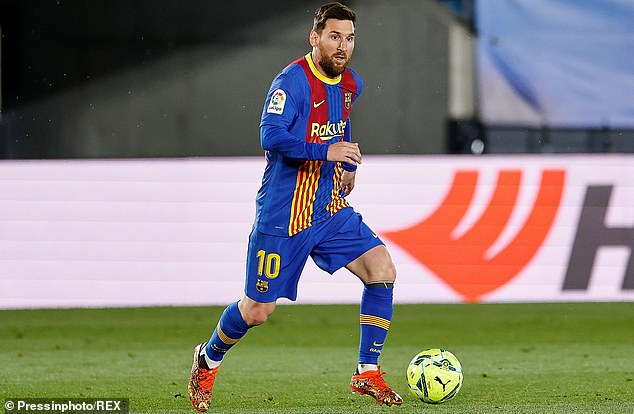 Lionel Messi has spent his whole career at Barcelona but is out of contract in the summer