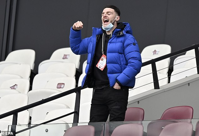 Manchester United have been monitoring the situation of Declan Rice for quite some time