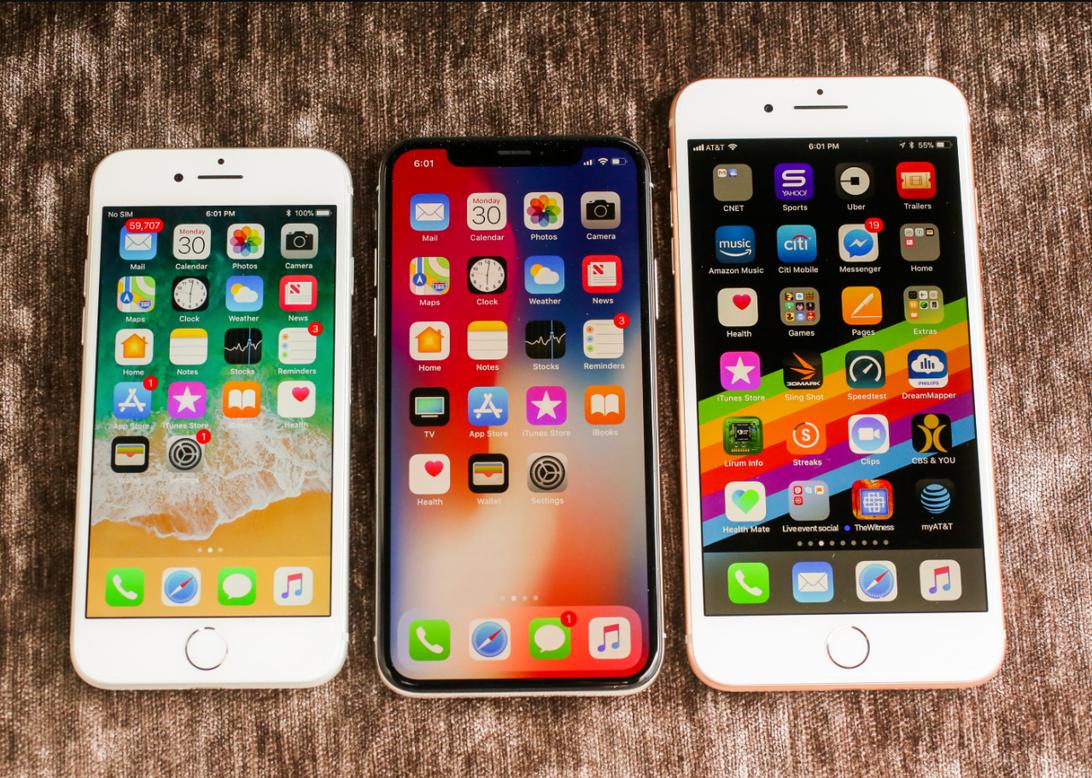 iphone x iphone 8 8 plus