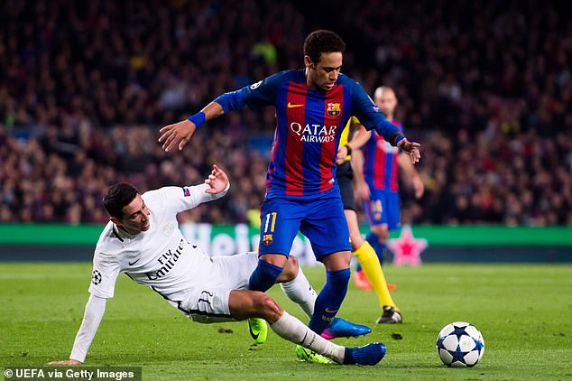 Neymar has been strongly linked with a move back to his former side over recent years