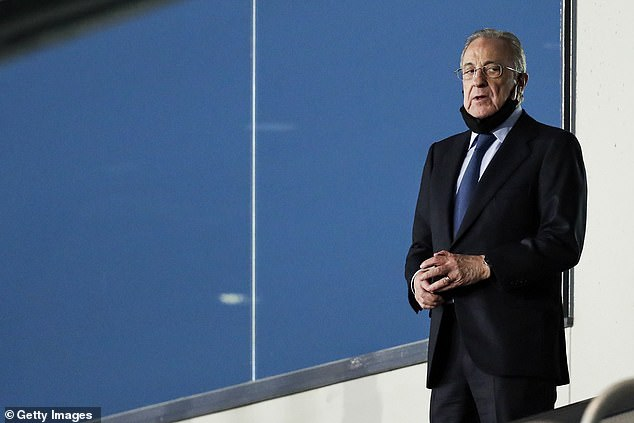 Madrid president Florentino Perez said last week neither Haaland nor Mbappe would be signed after the Super League collapse