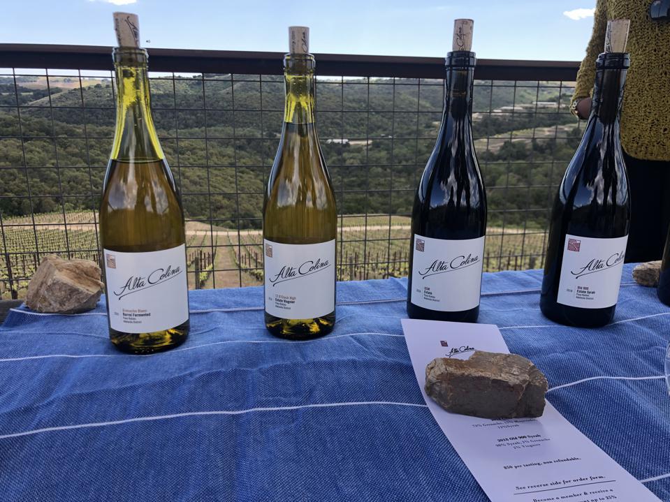Alta Colina makes Rhone varietals in California's Paso Robles wine country.