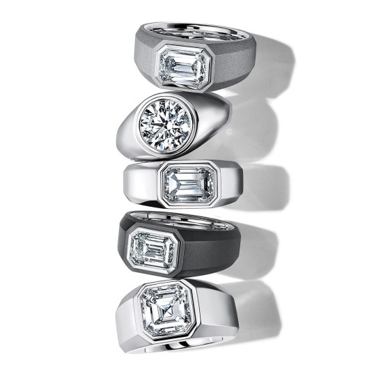 Men's engagement rings from Tiffany & Co