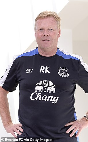 Everton stumped up the same fee to get Ronald Koeman out of his Southampton contract