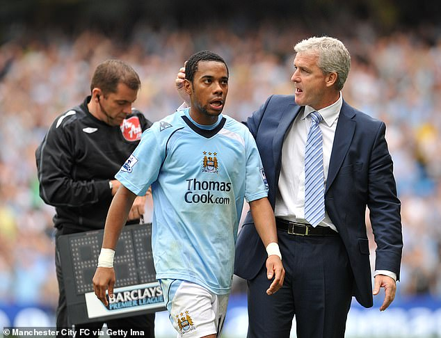 Mark Hughes was plucked for same fee as he became first boss under Man City's rich owners