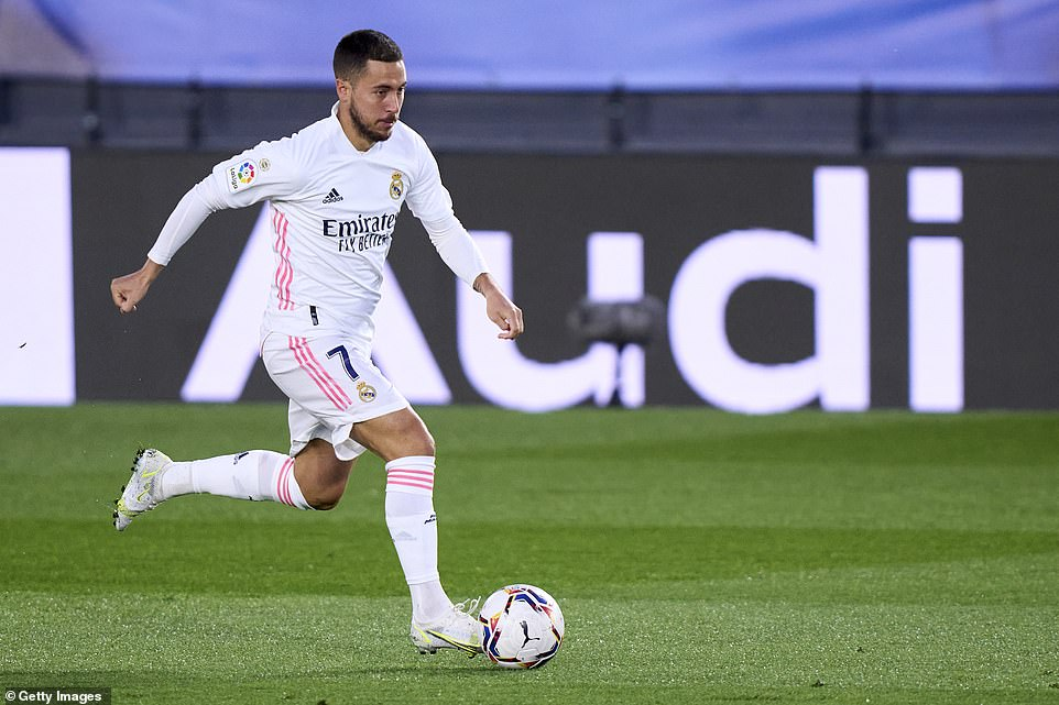 Eden Hazard started brightly but faded badly and had just been substituted when Zinedine Zidane's team finally took the lead