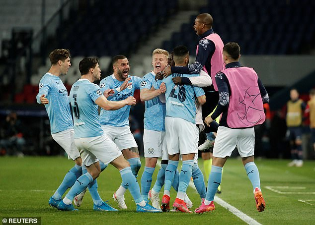 City's 2-1 win over PSG in the Champions League semi-final was one of Guardiola's greatest