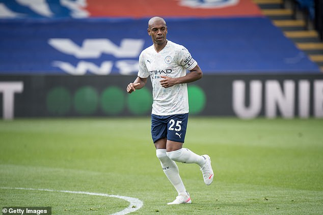 Fernandinho called a team meeting after City drew with West Brom. 'It was not a good session'