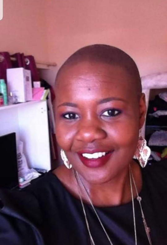 Cody lost her hair due to chemotherapy treatment. (Collect/PA Real Life)