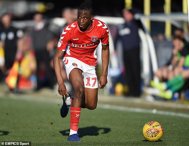 Staines boss Marcus Gayle believed Aribo could make it - and the dream came true at Charlton