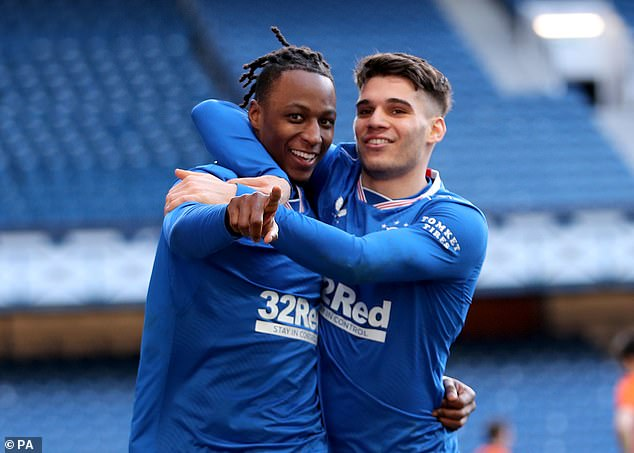 Aribo is hoping that his first league title is the first of many during a career that is just starting