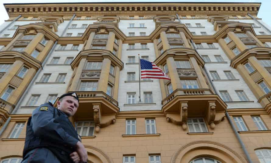 The US embassy in Moscow in 2012.