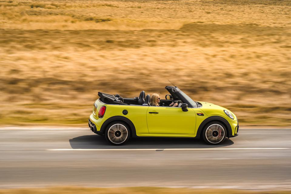 The new MINI Convertible is restyled for 2021
