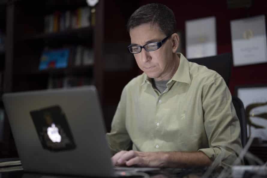 The lawyer-turned-blogger Glenn Greenwald