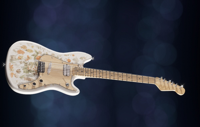Shawn Mendes is selling this virtual guitar as a unique NFT collectible.