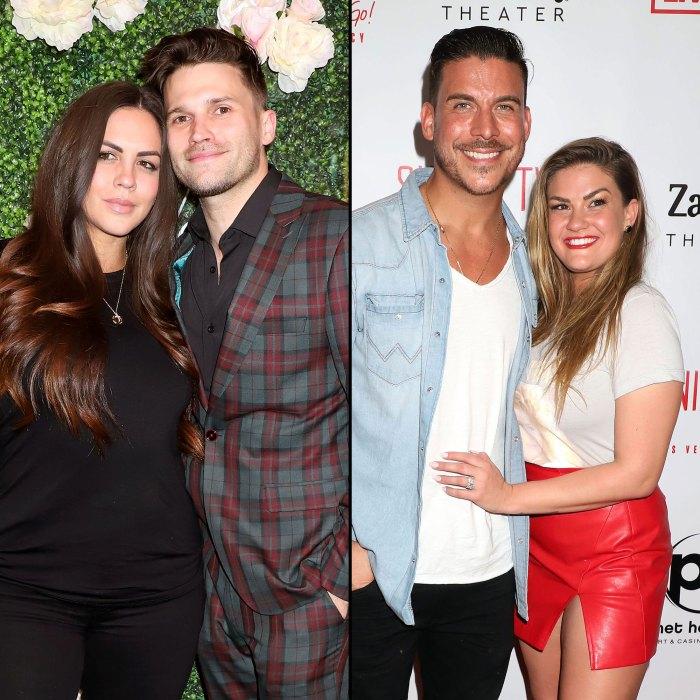 Katie Maloney and Tom Schwartz Meet Brittany Cartwright and Jax Taylor Son Cruz