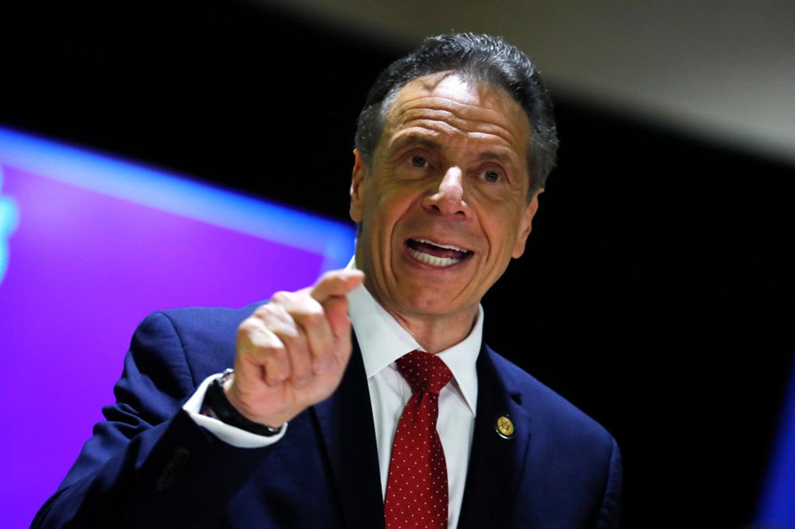 Gov. Andrew Cuomo speaks at an event.