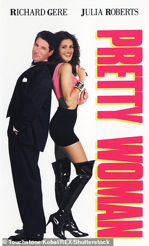 Feel good movies include an outsider , like Vivian (Julia Roberts), looking for love, which she finds with Edward Lewis (Richard Gere