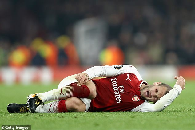 Jack Wilshere suffered a series of knee and ankle injuries during his time playing for Arsenal