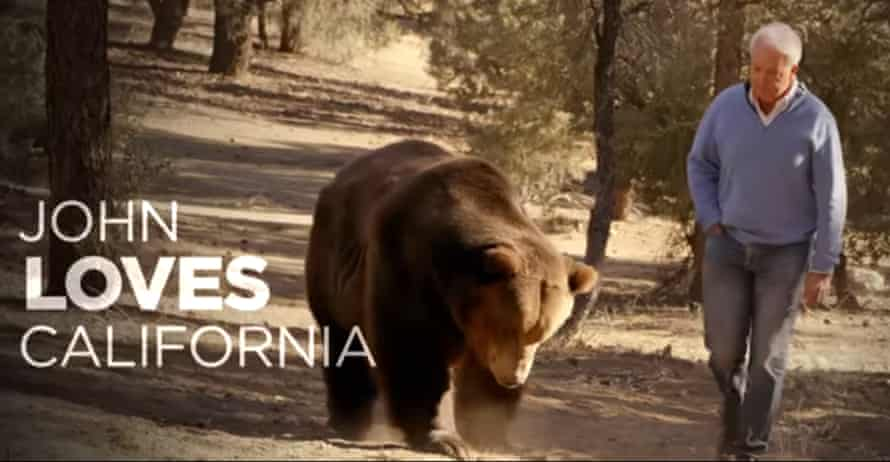 This video still from the new campaign ad released by John Cox.