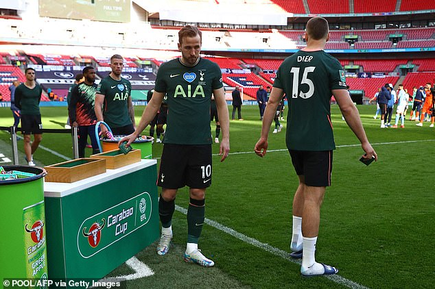 He was left to rue another cup final defeat as Tottenham were brushed aside by Man City in the Carabao Cup showpiece last month