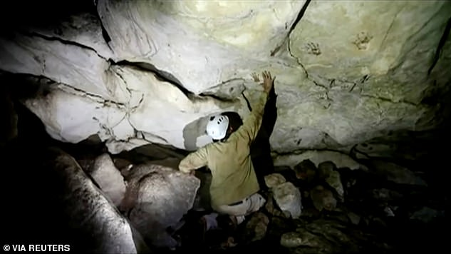 Handprints in a cave had not been discovered before, but Grosjean argues that since most are from children, the prints had to have been made during a coming-of-age ritual