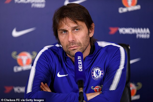 Conte spent two seasons with Chelsea before going on to manage Inter Milan