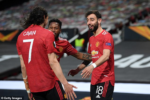 The United midfielder insisted the forward contributes more than just goals to the team