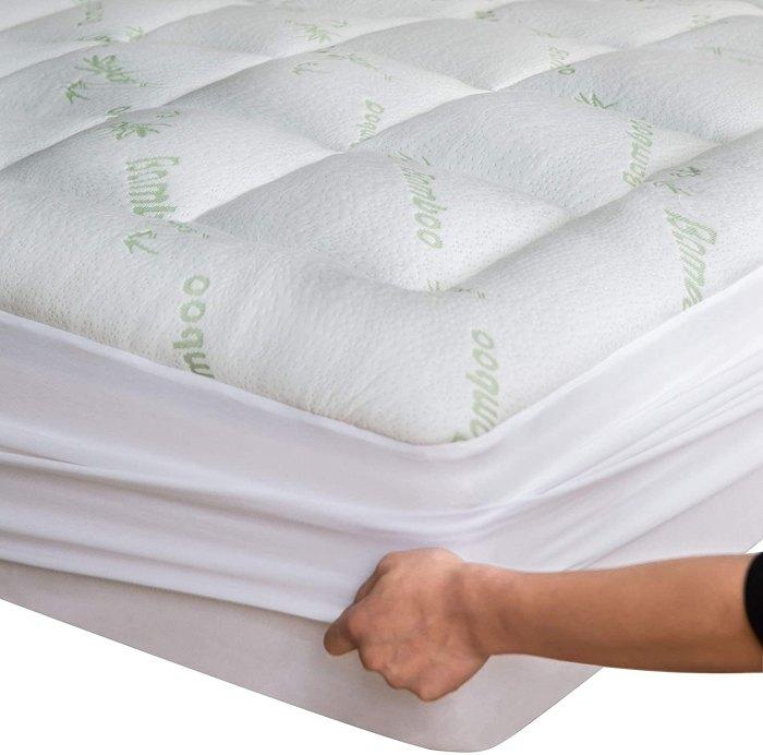 Niagra Sleep Solution Bamboo Mattress Topper Cover