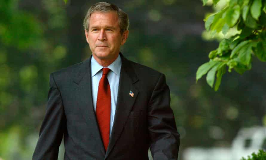According to Lewis, it was George W Bush who spurred the US to put much of its pandemic planning in place.