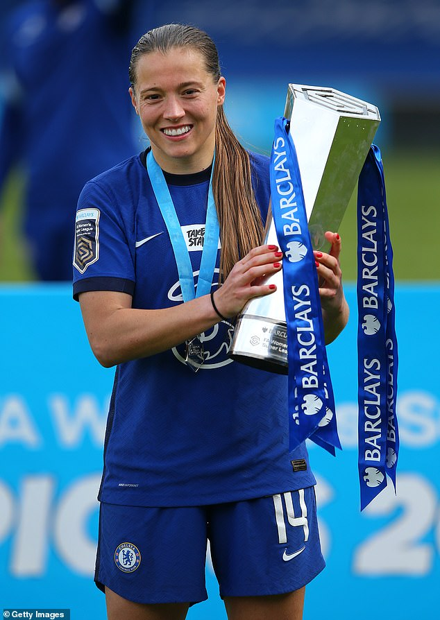 The 27-year-old has scored 25 goals this season for the FA Women's Super League winners