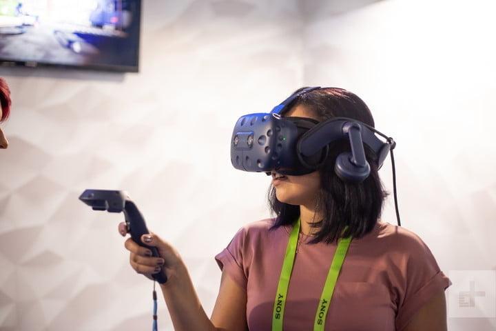 Vive Pro Eye CES 2019