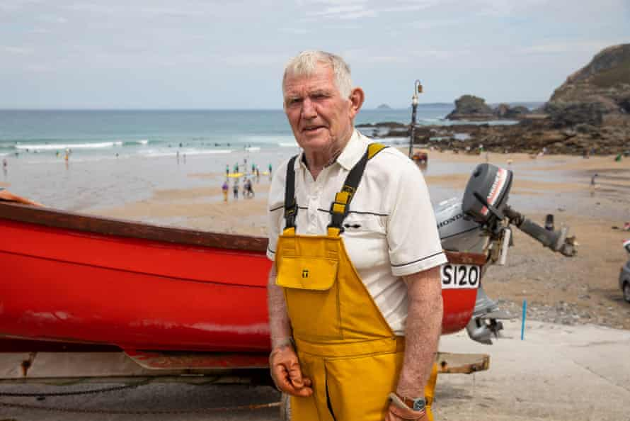David Bliss, a local fisherman in St Agnes.