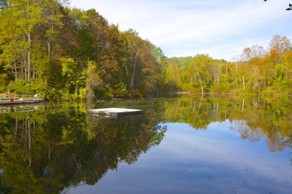 Ore Pit Pond at Taconic State Park, Columbia County, NY