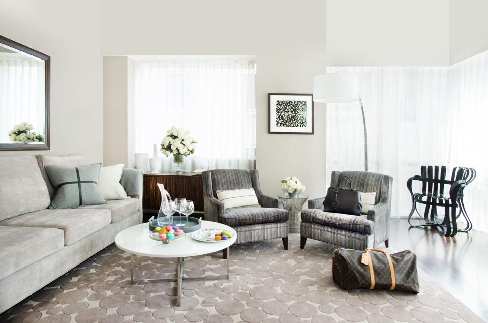 A luxury suite on Park Avenue in Manhattan, New York