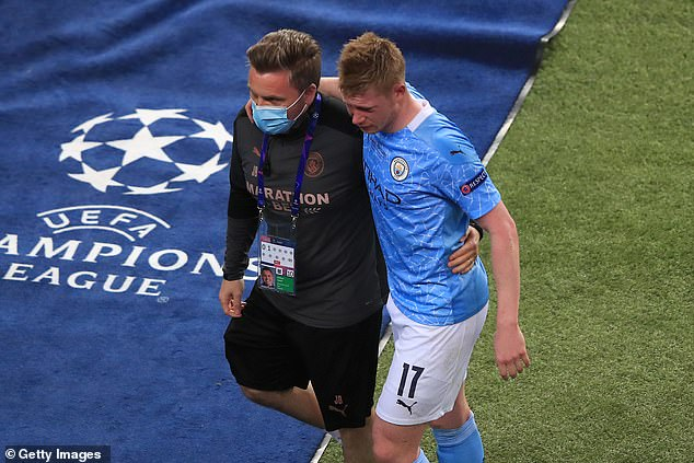 De Bruyne insisted that City won't give up in their quest to win the Champions League