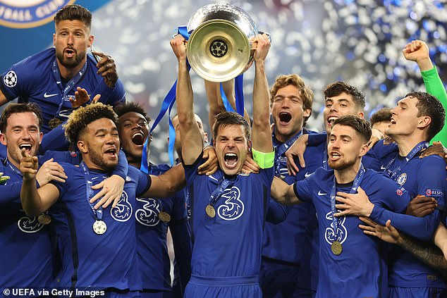 The Blues lifted their second Champions League title, with Cesar Azpilicueta lifting the title