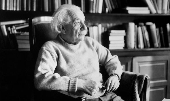 Albert Einstein: The German scientist has gone down in history with his trailblazing theory
