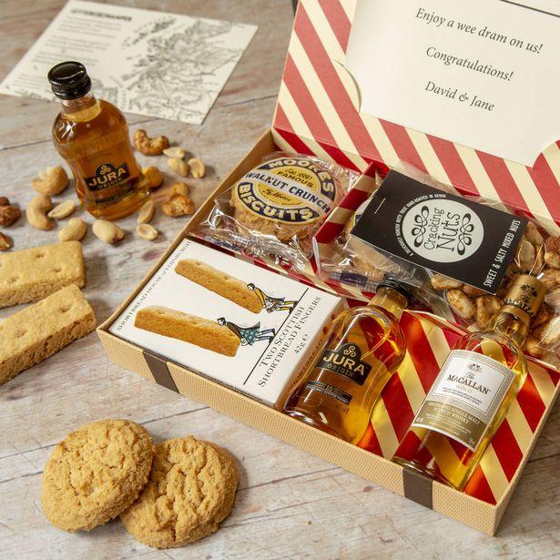 Personalised Whisky Lovers Letter Box Hamper
