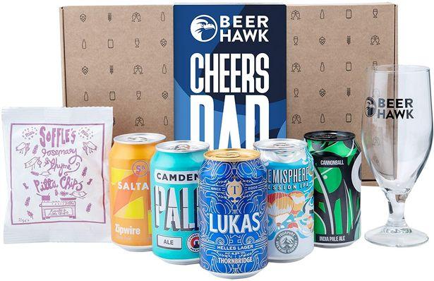Beer Box Gift Set by Beer Hawk