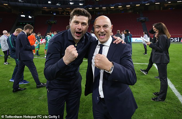 Reports earlier this week claimed Pochettino will hold talks with Tottenham on Monday