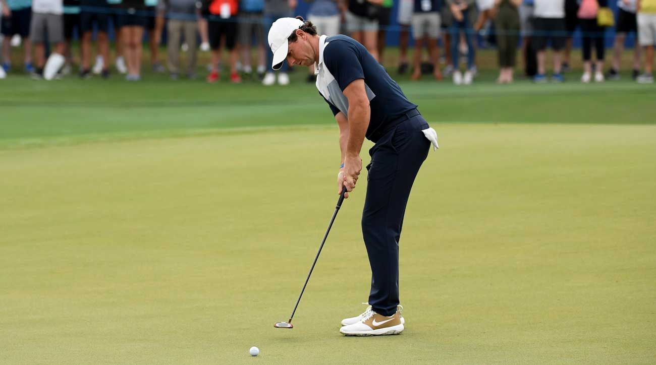 Rory McIlroy said one simple lesson with Brad Faxon helped him get his feel back.