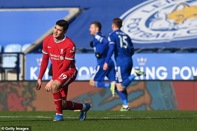 Loanee Ozan Kabak failed to fill the void in central defence for deposed champions Liverpool