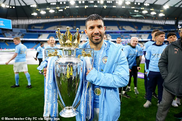 Aguero is City's all-time record goalscorer with 260 goals in ten years at the Etihad Stadium