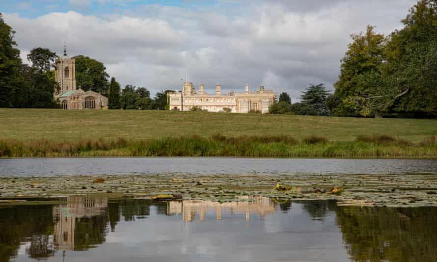 Take a dip in a Capability Brown-designed lake.