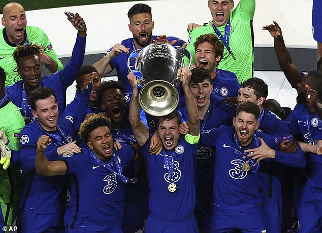 Chelsea lifted the European Cup for the second time following their first success back in 2012