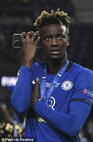 As his team-mate Tammy Abraham