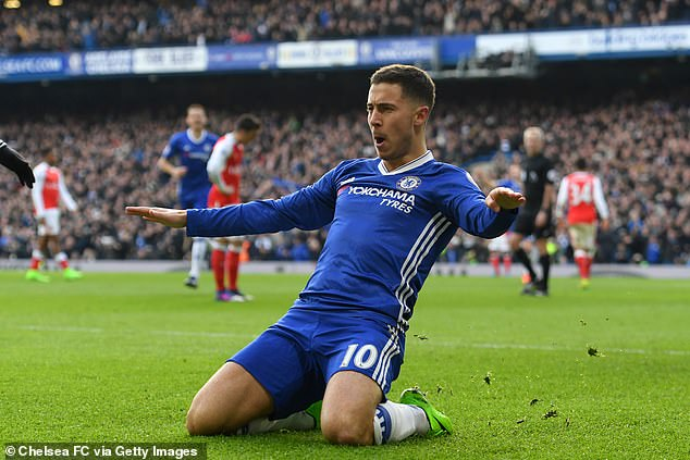 Hazard has ruled out a Premier League return where he spent seven years playing for Chelsea