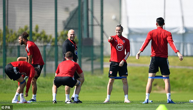 Bale said he did not want to cause any distractions around the camp by discussing his future